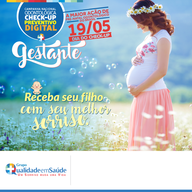 Campanha Check up Bucal Gestante