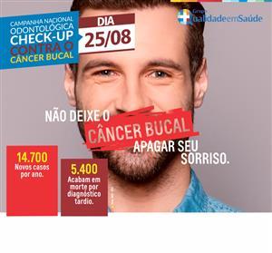 Previna-se contra o câncer bucal: Uma doença silenciosa e de rápida evolução